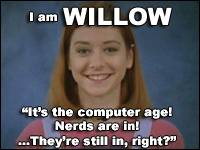 I am Willow!  Who are you?